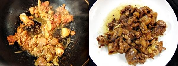 辣子鶏レシピ