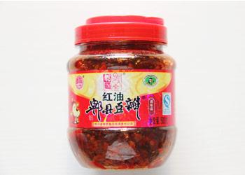 郫筒 红油郫县豆瓣(約7元)