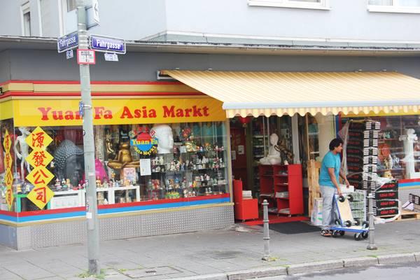 Yuan fa Asia Market