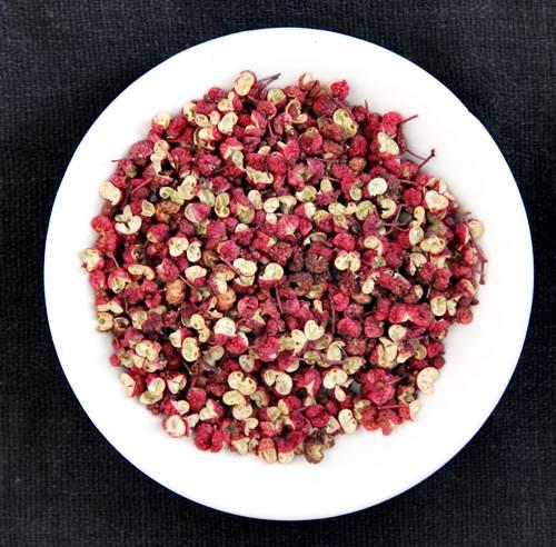 四川料理では痺れる花椒が有名