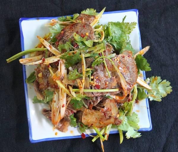 四川料理ではパクチーをよく使う
